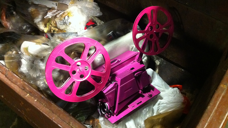 pink-projector